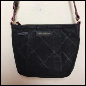 Vera Bradley Criss Cross Print Nylon Crossbody Bag
